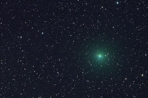图文:07年12月26日阿根廷出现的塔特尔彗星