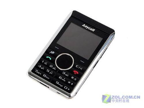 名片造型三星商务手机P318售价3650元
