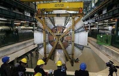 世界最大粒子对撞机建设进入尾声(图)