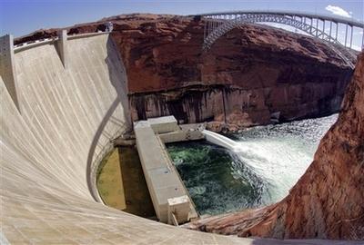 美国开始人造洪水实验拯救大峡谷生态(图)