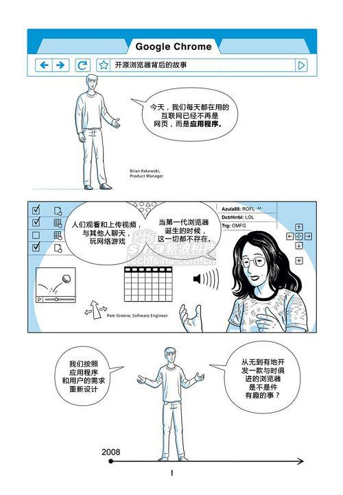 独家:GoogleChrome漫画书中文版(1)