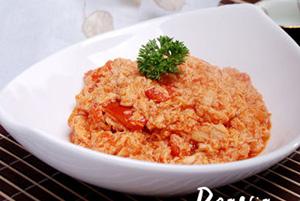 家常菜番茄炒冻豆腐(图)