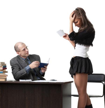 Профессор и студентка фото