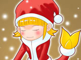 双鱼乔装圣诞老人