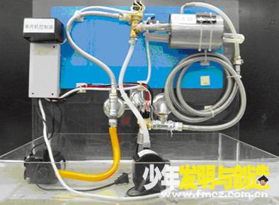 小学生发明与创造:热水器回收冷水装置