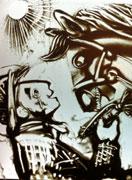 《沙兵马将》香港沙画艺术家海潮