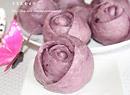 健康紫薯玫瑰卷
