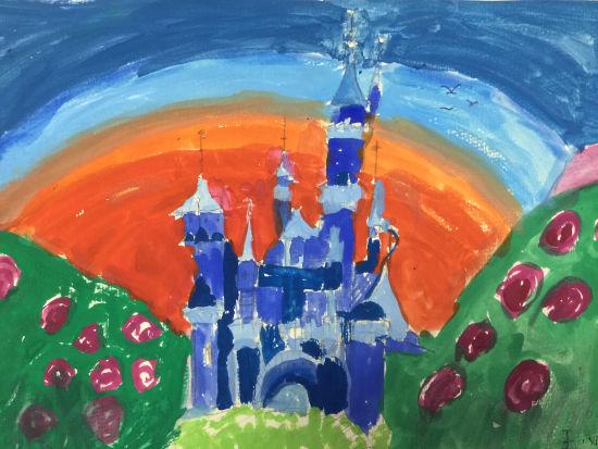 王心茗 7岁 《美丽的城堡》