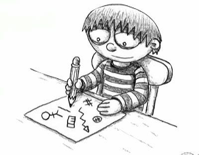 铅笔画太阳步骤图解