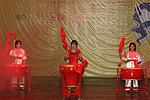 才艺表演:中国鼓