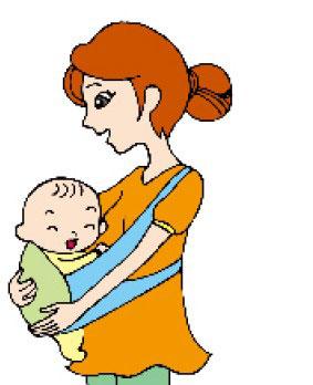 怎样抱宝宝他才舒服呢?