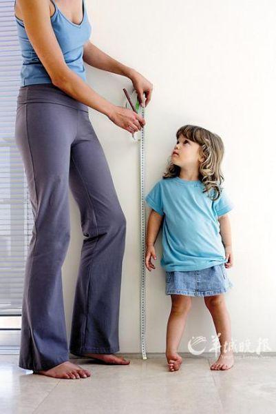 孩子长高的N个误区