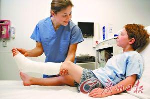 儿童骨折再生能力强不宜上钢板