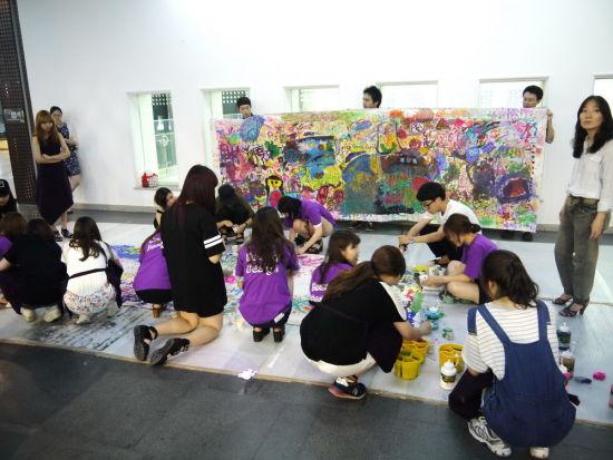 世界自闭症艺术巡回展韩国首尔站简介(图)