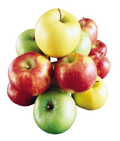 时令鲜果:找准颜色吃苹果(图)