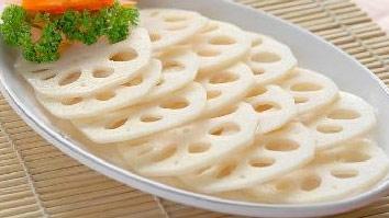产后瘦身食谱:脆爽鲜藕片