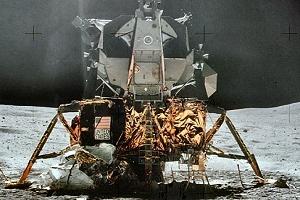 阿波罗宇宙飞船的登月舱