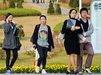 比韩剧更美的女大校园