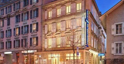 实拍:瑞士全自助式服务的酒店