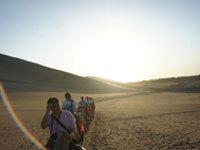 乌鲁木齐站:穿越沙漠 体验民族风情
