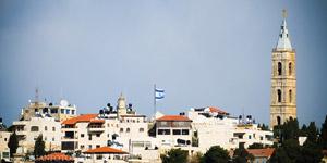 耶路撒冷老城远景