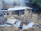 甘肃震区的现场照片