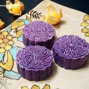 紫薯奶黄月饼