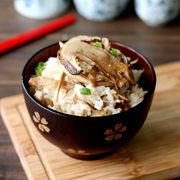 鲜美营养松茸焖饭
