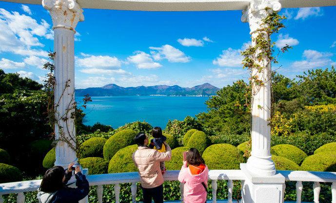碧海蓝天巨济岛