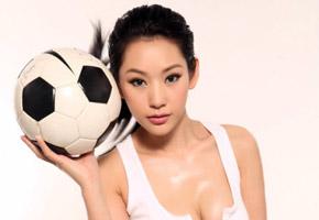 徐黛妮:我当了一回足球宝贝