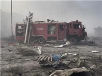 消防车被炸毁不排除二次爆炸可能性