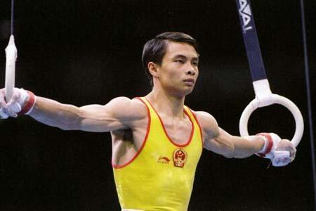 以中国运动员命名的体操动作