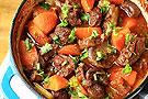进补暖身菜红酒烩羊肉