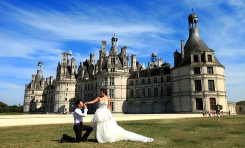 法国浪漫蜜月的城堡之旅