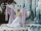 爱宝乐园游园花车冰雪女王