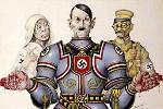 二战中的希特勒漫画