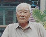 在卢沟桥抡过大片刀又在天津扫大街的老人