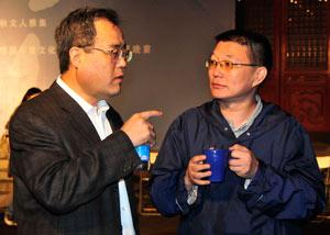 刘苏里和止庵这么认真地在聊什么呢?
