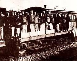 唐胥铁路通车仪式