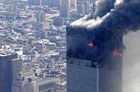 世贸北楼的第一声巨响