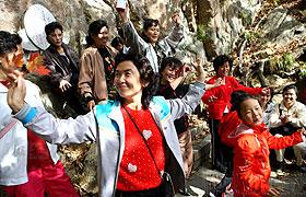 朝鲜女人着装