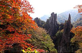 朝鲜名山金刚山