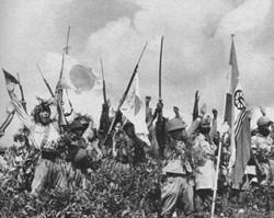 日军以旋风之势席卷东南亚