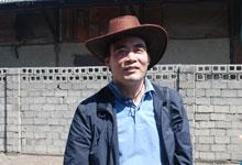 7月1日,中国外文局副局长陆彩荣到达乌拉巴托火车站