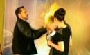 魔术师表演遭纵火