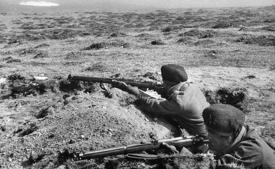 美国记者拍1962年中印战争