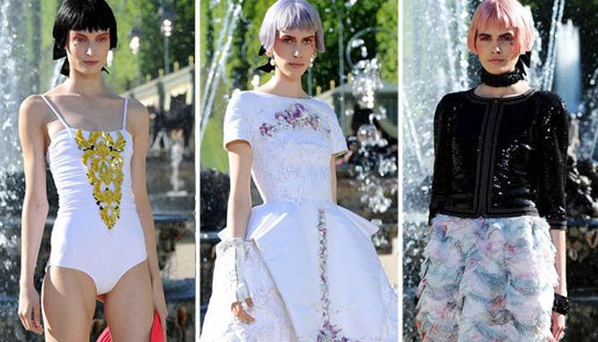 贵族们的时尚party Chanel 2013早春系列发布会花絮