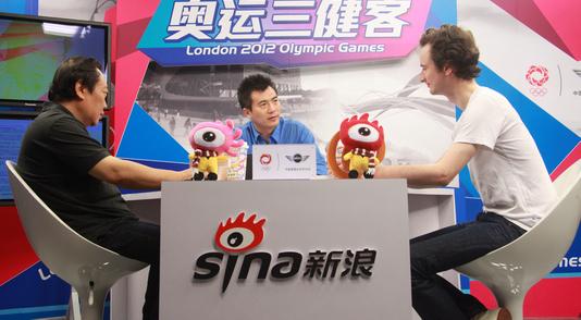 三健客聊奥运赛场新鲜事