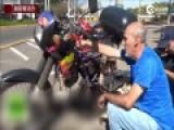 巴西男子造神奇摩托车 只加一升水跑500公里