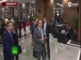 实拍G20峰会期间 奥巴马普京角落热聊35分钟